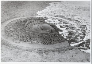 Diana Blok (1952) -Puri, India- Postkaart