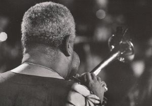 Vincent Mentzel (1945) -Dizzy Gillespie, musican- Postkaart