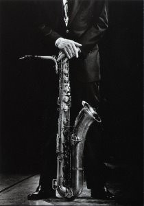 Vincent Mentzel (1945) -Gerry Mulligan, musician- Postkaart