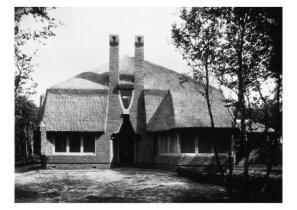 Bernard F.Eilers (1878-1951) -Park Meerwijk- Postkaart