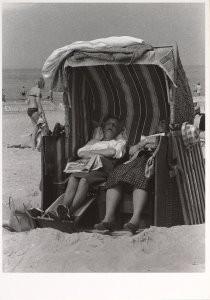 Eddy van der Veen (1922) -Stranddutje- Postkaart