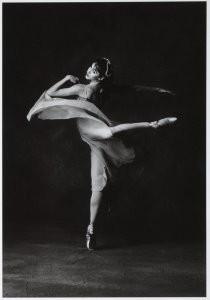 Nancy Ellison (1936) -American Ballet Theatre, Paloma Herera, solist- Postkaart