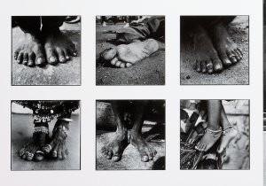 Venus Veldhoen (1968) -Voeten India- Postkaart
