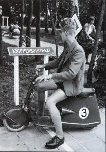 Henk  Blansjaar (1910-1981) -Kinderverkeerstuin, 1957- Postkaart