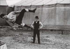 A. Bijnen (1870-1938) -Circus Oscar Carre in Breda, augustus 1905- Postkaart