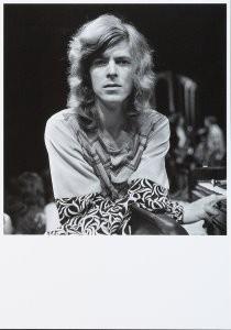 Nico van der Stam (1925-2000) -David Bowie- Postkaart