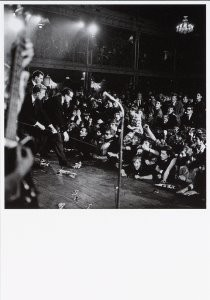 Nico van der Stam (1925-2000) -Optreden Rolling Stones (8 august 1964)- Postkaart