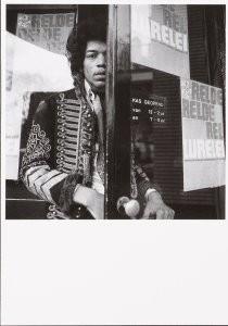 Nico van der Stam (1925-2000) -Jimi Hendrix (1966)- Postkaart