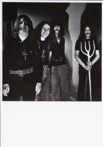 Nico van der Stam (1925-2000) -Black Sabbath- Postkaart
