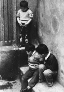 Fu Chun Wang -Peeing Boy, China- Postkaart