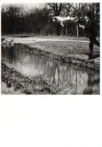 Jacques H. Lartique (1894-1986-Mr.Pitt teaching- Postkaart