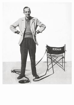 Filmindustri -Ingmar Bergman- Postkaart