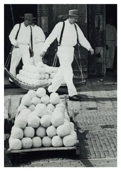P.J.Bosman -Kaasmarkt, Alkmaar, ca. 1966- Postkaart