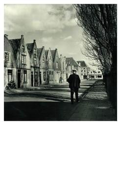 Maria Austria (1915-1975) -Limmerhoek vanaf de Keetgracht, Alkmaar- Postkaart