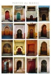 Anouk Bekker -Portes du Maroc- Postkaart