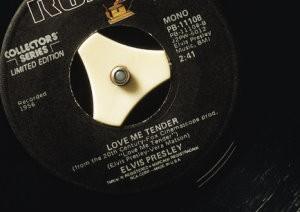Paul Baars (1949) -Love me tender- Postkaart