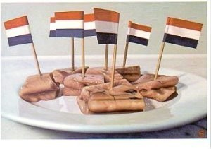 -Hollandse Nieuwe- Postkaart