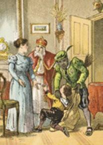 -Anoniem/Sinterklaas- Postkaart