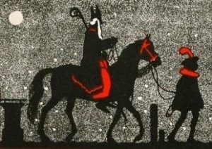 -D.Hoeksema/Sinterklaas- Postkaart
