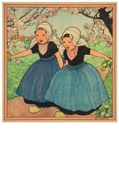 Rie Cramer (1887-1977) -Untitled- Postkaart