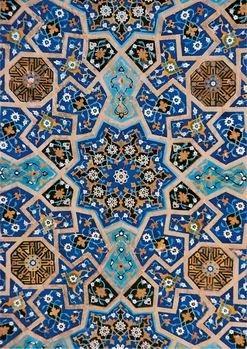 Karin van Oostrom -Inlegwerk, Shiraz- Postkaart