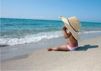 Marden Smith -Beach girl- Postkaart