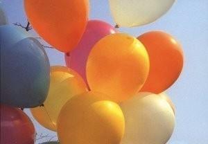 André Leenes (1946-1979) -13 balloons- Postkaart