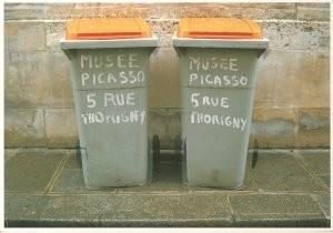 Chris Paul Stapels (1942-1999)-Stapels/ Musee Picasso Paris- Postkaart