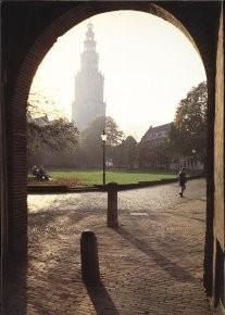 Martin Kers (1944) -Martini Toren, Groningen- Postkaart