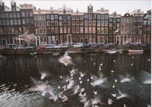 Martin Kers (1944) -Keizersgracht,Amsterdam- Postkaart