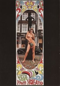 Peter Dicampos (1936-2000) -P.Dicampos/Lieverdje Amsterdam- Postkaart