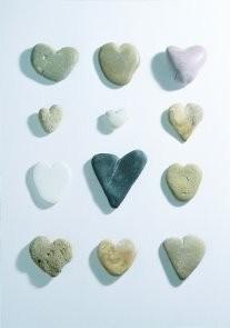 Letizia Volpi -Hearts of stone- Postkaart