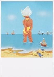 Jan Lavies (1902-2005) -Jan Lavies/Zomer- Postkaart