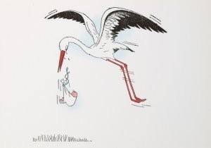 Jan Lavies (1902-2005) -Jan Lavies/Untitled- Postkaart