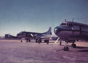 Paul Huf (1924-2002) -Paul Huf/KLM,oud Schiphol- Postkaart