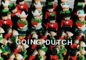 Dixie Solleveld -Going Dutch.- Postkaart