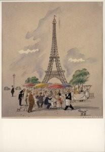 Jan Lavies (1902-2005) -Omslag Wijnlijst- Postkaart