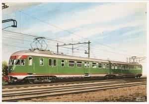 Charles Burki (1909-1994) -C.Burki/Gestr. Elec. tweewagen- Postkaart