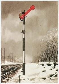 Charles Burki (1909-1994) -C.Burki/Enkelvoudig armsein.- Postkaart