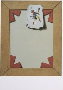 Emo Verkerk (1955) -Joker- Postkaart