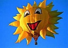 Mark Downey -Smiling Sun, New mexico- Postkaart