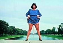 Annie Sprinkle (1954) -Miss Vera Does Wash- Postkaart