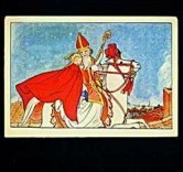 Rie Cramer (1887-1977) -u- Postkaart