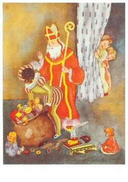 -Sinterklaas- Postkaart