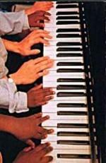 M.Preston -Piano Teaching- Postkaart