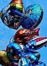 Coquille -Birthday balloons- Postkaart