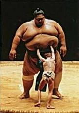 Raymond Kennedy -R.Kennedy/Sumo Wrestler/WPP.- Postkaart