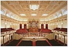 Hans Samsom (1939) -Grote Zaal concertgebouw, Amsterdam- Postkaart