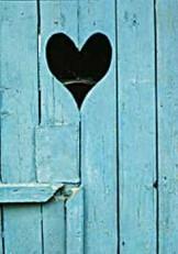 Abraham Luttger (1944) -The door to your heart- Postkaart