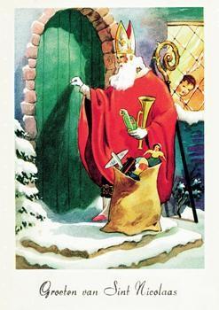 Anoniem, -Sinterklaas- Postkaart